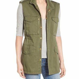 🔥 2/32 Zara |  Spring  army utility vest